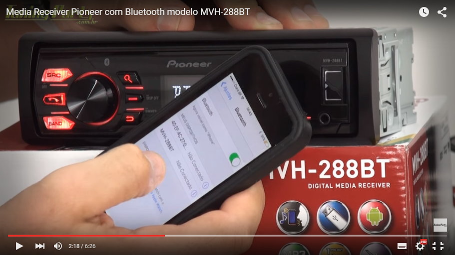 MVH_288BT_Media_Receiver_Pioneer