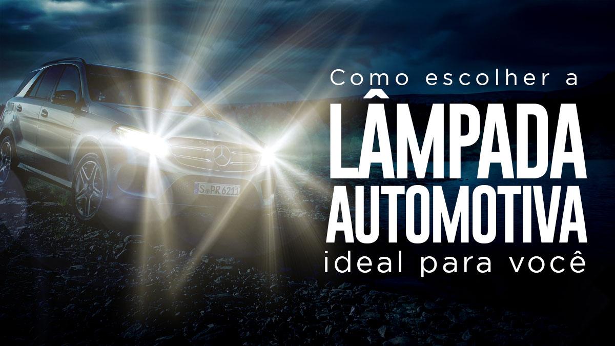 Como escolher a lâmpada ideal